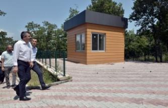 Bursa Yıldırım'da Balaban Mesire alanı açılışa hazırlanıyor