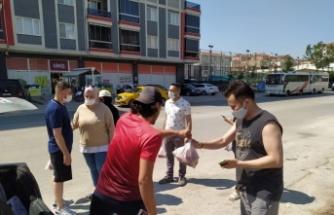 Yabancı öğrencilere kurban eti dağıtıldı