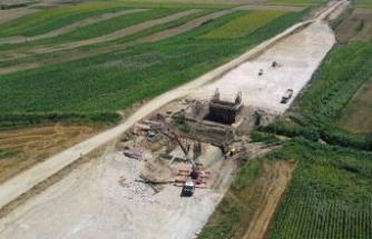 """""""Hızlı tren"""" hattı altyapı çalışmaları Bulgaristan sınırına yaklaştı"""