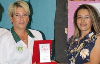 Manisalı okçuluk antrenörü plaketle ödüllendirildi