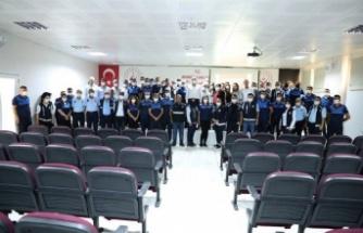 Mardin Zabıtası'na iletişim ve öfke kontrölü eğitimi verildi