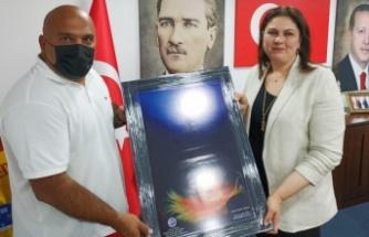 TSSF Edirne Temsilci Özkan Arsu'dan AK Parti İl Başkanı İba'ya teşekkür ziyareti