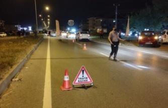 Sakarya'da hafif ticari aracın çarptığı kişi hayatını kaybetti