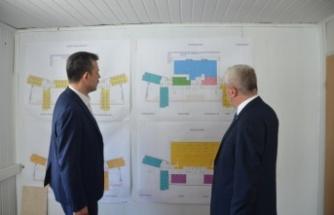 Ali Osman Sönmez Devlet Hastanesi inşaatında çalışmalar hızla sürüyor