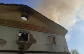Metruk binada çıkan yangın söndürüldü