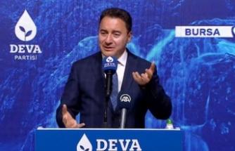 """DEVA: """"Erdoğan sonunda muradına erdi, millet fakirleşti"""""""