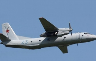 Rusya'da askeri uçak radardan çıktı!