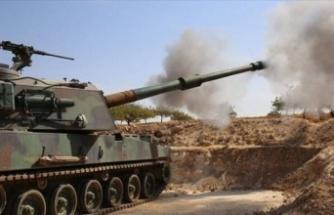 Barış Pınarı'nda saldırı girişimi önlendi! 5 terörist etkisiz halde!