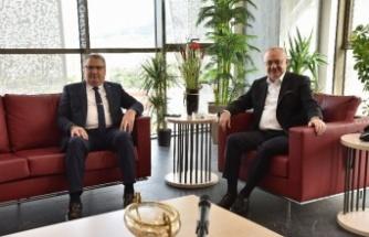 Başkan Çerçi'den, Manisa Büyükşehir'e ziyaret