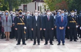 Bilecik'te 29 Ekim Cumhuriyet Bayramı töreni yapıldı