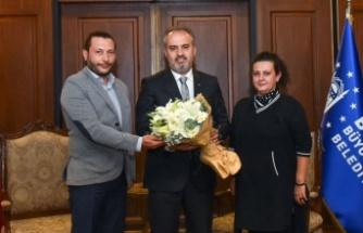 Bursa'da yerel sanatçılardan Büyükşehir'e destek teşekkürü