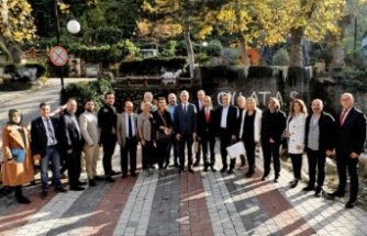 İGD üyeleri İnegöl Belediye Başkanı Alper Taban'la buluştu