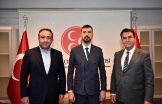 Osmangazi Belediye Başkanı Dündar, MHP Teşkilatı'nı ziyaret etti