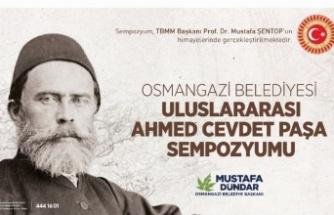 Bursa Osmangazi'de Ahmed Cevdet Paşa Sempozyumu yapılacak