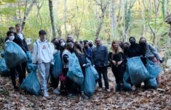 Bursa Yıldırım'da Halkla İlişkiler öğrencilerinden 'doğa' farkındalığı