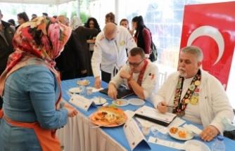 Edirne'de Karaağaç Kabak Festivali'nde yemek yarışması düzenlendi
