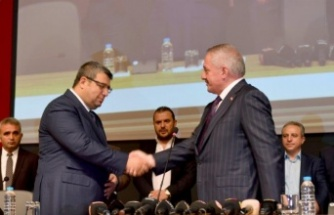Kayseri OSB'de devir teslim töreni