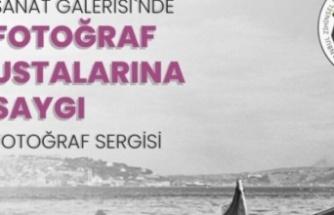 İzmit Belediyesi Sanat Galerisi'nde fotoğrafın ustalarına saygı