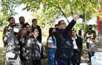 Mehmet Kanar üniversitelilerle buluştu
