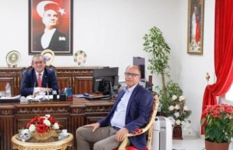 Mustafa Ercan'dan, Kaymakan Eriş'e Ziyaret