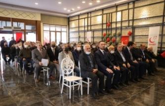Saadet Partisi Genel Başkan Yardımcısı Arıkan, partisinin ilçe kongresinde konuştu: