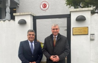 Sakarya'dan  Kopenhag Büyükelçisi İpek'e ziyaret