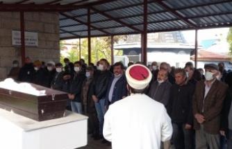 Tekirdağ'da alabora olan bottan denize düşerek boğulan Bellikli, memleketi Aksaray'da toprağa verildi