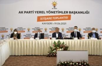 AK Parti'den Kayseri'de istişare toplantısı