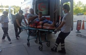 Kandıra'da yüzmenin yasaklandığı bölgede boğulma tehlikesi geçiren 4 kişi hastaneye kaldırıldı