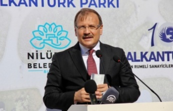 Bursa'da Minia Balkantürk Parkı açıldı