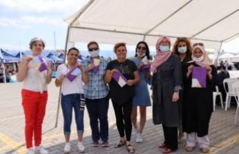 İzmit Belediyesi üretici kadınların yanında