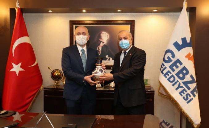 Bakan Karaismailoğlu'ndan  Başkan Büyükgöz'e Ziyaret