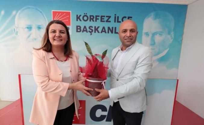 CHP Körfez'e Hürriyet'ten ziyaret
