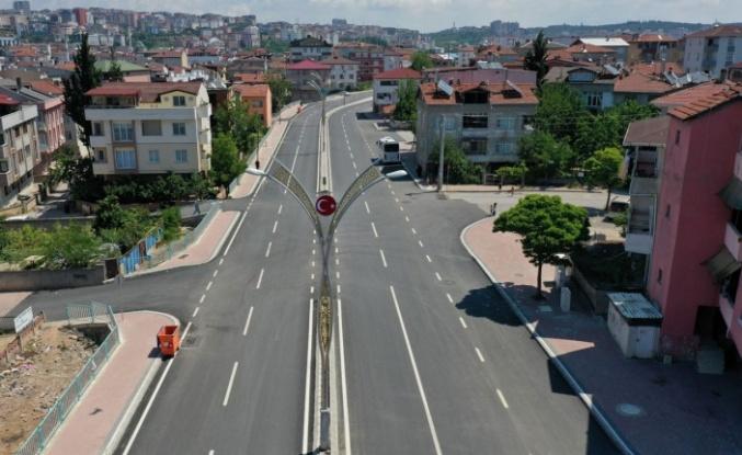 Darıca'da Cengiz Topel Caddesi'ne son dokunuş