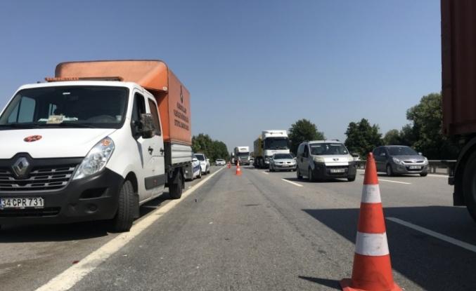 Anadolu Otoyolu'nda 2 yolcu otobüsü çarpıştı: 4 yaralı