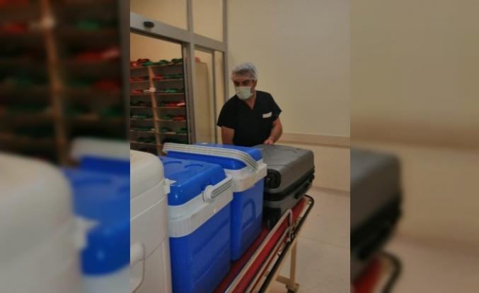 Beyin ölümü gerçekleşen kadının organları 5 hastaya umut olacak
