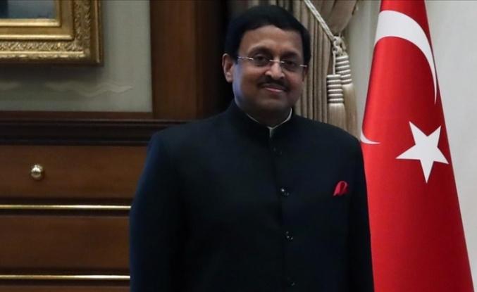 Hindistan'ın Ankara Büyükelçisi Sanjay Kumar Panda, Tarihi Gelibolu Yarımadası'nı ziyaret etti: