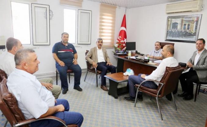 AK Parti'den esnaf odalarına ziyaret
