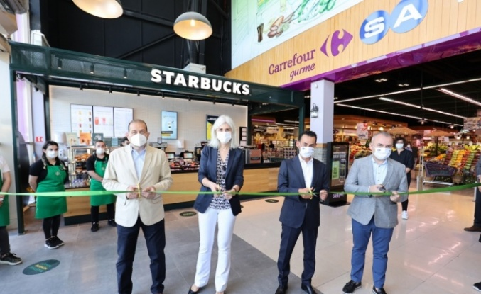 Starbucks, CarrefourSA marketlerde