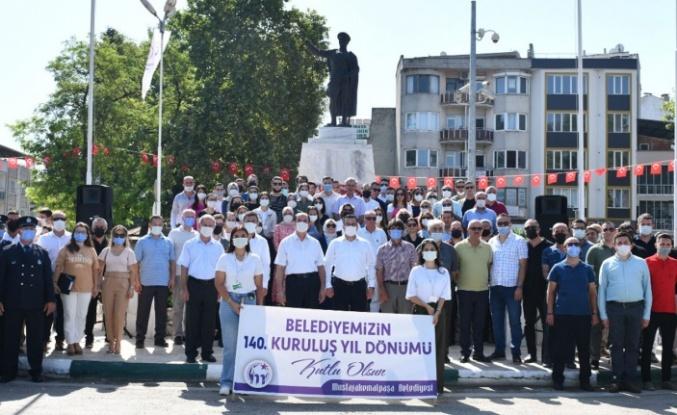 Mustafakemalpaşa'da 140. yıl sevinci