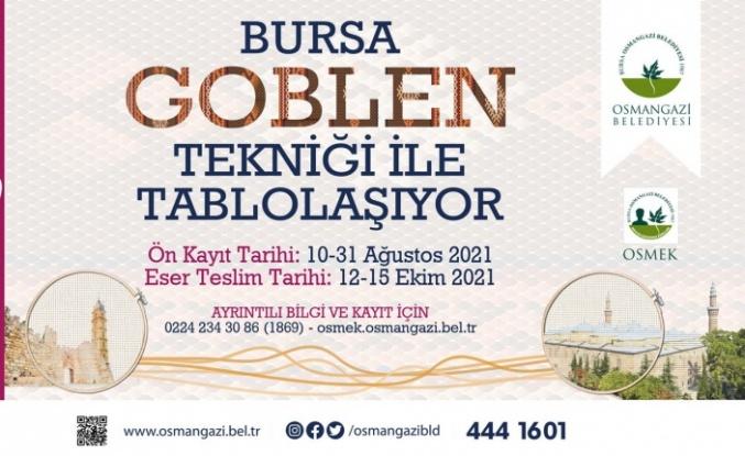 Bursa'nın güzellikleri 'goblen' tekniğiyle tablolaşacak