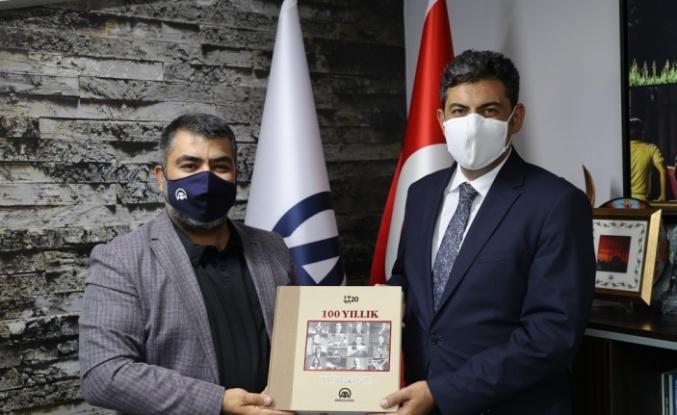 Cumhuriyet Başsavcısı Çakmak, AA Edirne Bölge Müdürlüğünü ziyaret etti