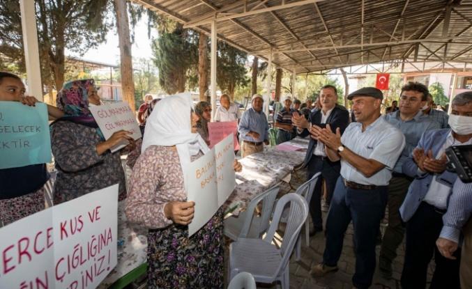 İzmir'den Gölmarmara'ya hayat verecek hamle