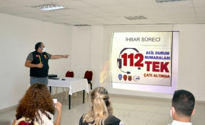 Karamürsel'de muhtarlara yönelik yangın semineri düzenlendi