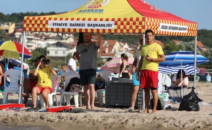 Kocaeli sahillerinde 2 haftada 164 kişi boğulmaktan kurtarıldı