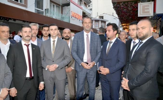 MHP Karamürsel İlçe Başkanı Göktekin görevine başladı