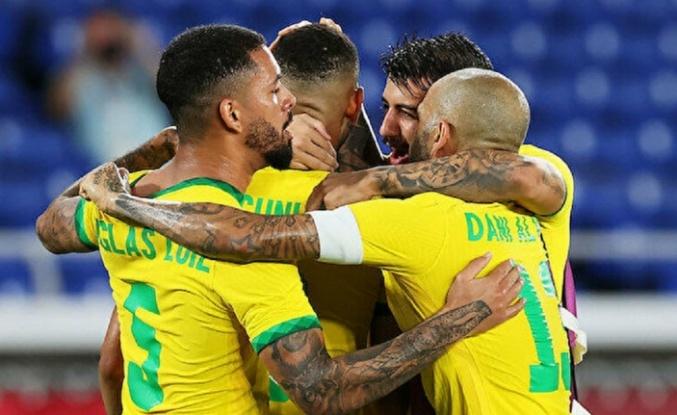 Tokyo Olimpiyatları'nda futbolun devi Brezilya