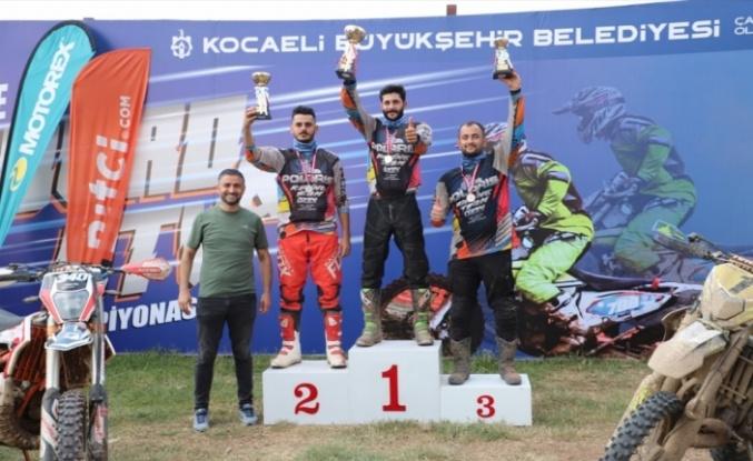 Türkiye Enduro ve ATV Şampiyonası'nın ikinci ayağı, Kartepe'de yapıldı