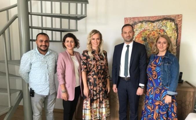 AA Bölge Müdürü Aksoy'dan BUİKAD'a ziyaret