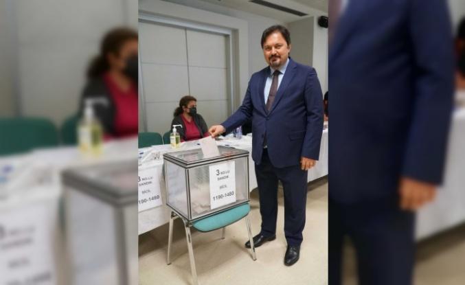Baro Başkanı Gürkan Altun güven tazeledi